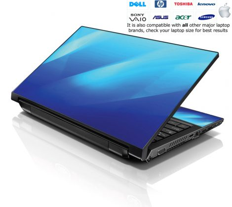 Notebook / Netbook Skin Cover Decal – Waves