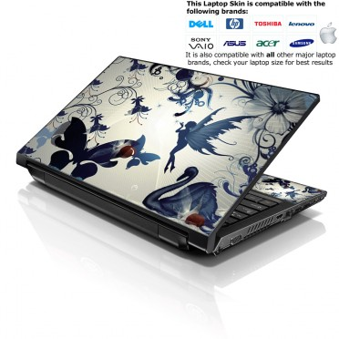 Notebook / Netbook Skin Cover Decal – Flying Angels