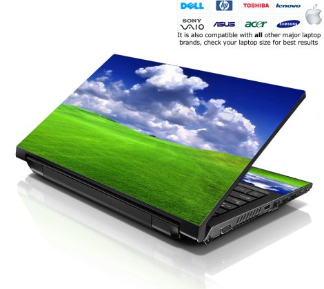 Notebook / Netbook Skin Cover Decal – Scenery