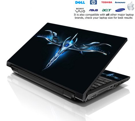 Notebook / Netbook Skin Cover Decal – Blue Sign