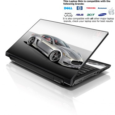 Notebook / Netbook Skin Cover Decal – Cool Car