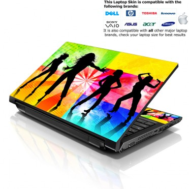 Notebook / Netbook Skin Cover Decal – Dancing Girls