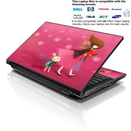 Notebook / Netbook Skin Cover Decal – Girl Birthday Party
