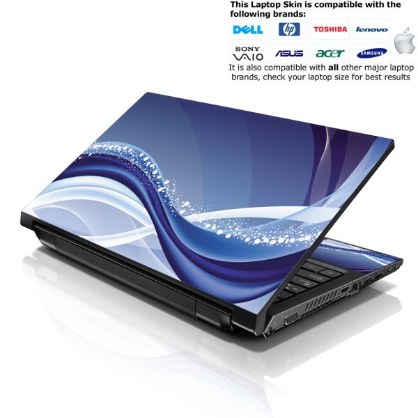 Notebook / Netbook Skin Cover Decal – Wave Abstract