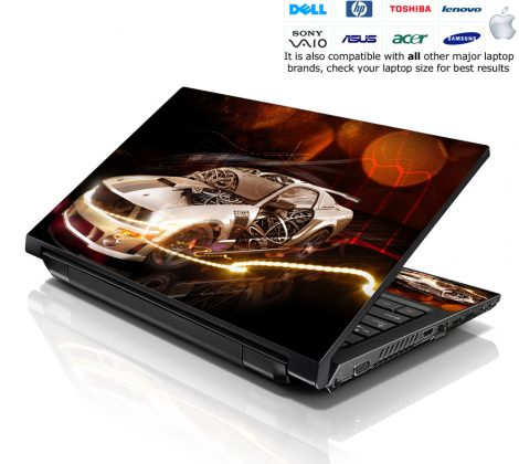 Notebook / Netbook Skin Cover Decal – Ford Mustang