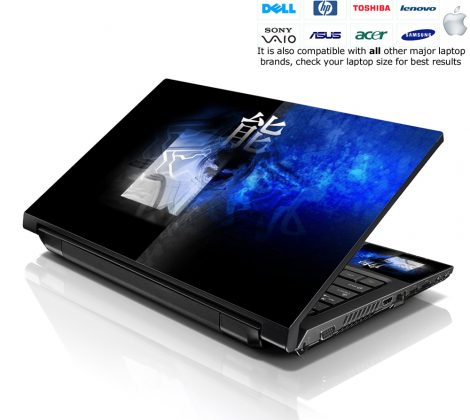 Notebook / Netbook Skin Cover Decal – Chinese Sign