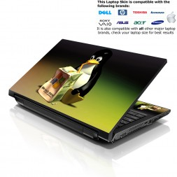 Notebook / Netbook Skin Cover Decal – Linux Penguin