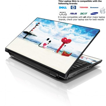 Notebook / Netbook Skin Cover Decal – Love in The Air