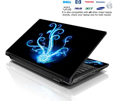 Notebook / Netbook Skin Cover Decal – Abstract Glow