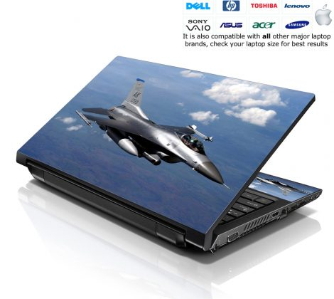 Notebook / Netbook Skin Cover Decal – Plane