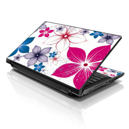 Notebook / Netbook Skin Cover Decal – Spring Flower Leaves
