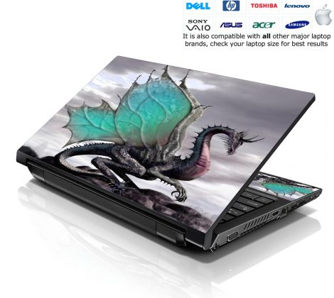 Notebook / Netbook Skin Cover Decal – Dinosaurs