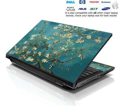 Notebook / Netbook Skin Cover Decal – Almond Trees