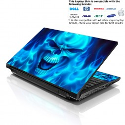 Notebook / Netbook Skin Cover Decal – Blue Monster