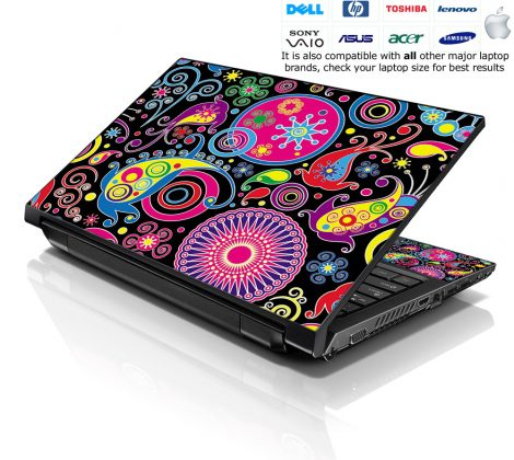Notebook / Netbook Skin Cover Decal – Abstract