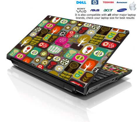 Notebook / Netbook Skin Cover Decal – Trees