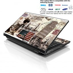 Notebook / Netbook Skin Cover Decal – USA