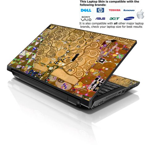 Notebook / Netbook Skin Cover Decal – Art Tree