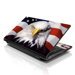 Notebook / Netbook Skin Cover Decal – USA Eagle