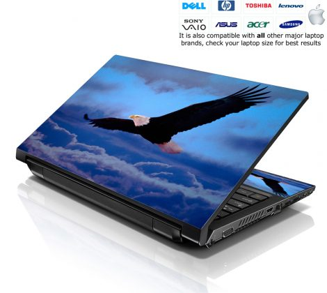 Notebook / Netbook Skin Cover Decal – Eagle