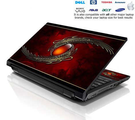 Notebook / Netbook Skin Cover Decal – Red Sign