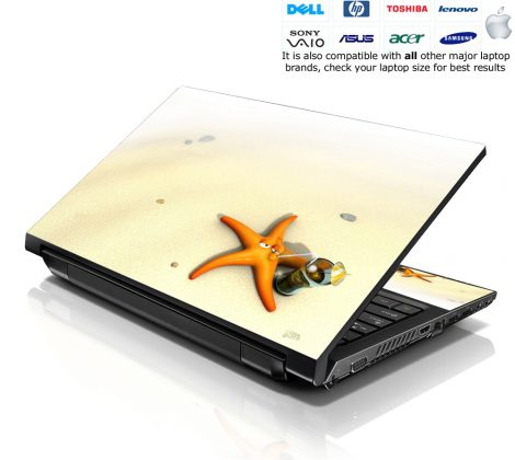 Notebook / Netbook Skin Cover Decal – Star Fish