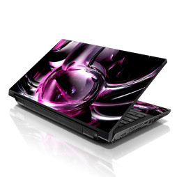 Notebook / Netbook Skin Cover Decal – Abstract Purple