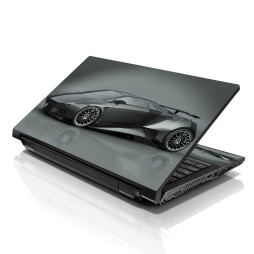 Notebook / Netbook Skin Cover Decal – Grey Lamborghini