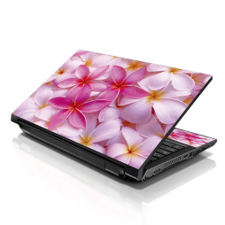 Notebook / Netbook Skin Cover Decal – Pink Plumeria Flower