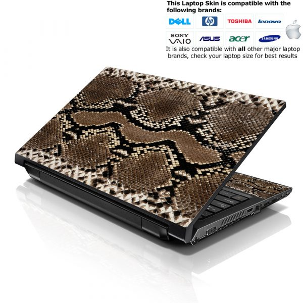 Notebook / Netbook Skin Cover Decal – Snake Print
