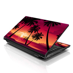 Notebook / Netbook Skin Cover Decal – Hawaiian Paradise Palm Tree