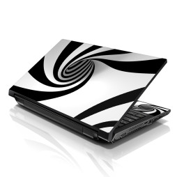 Notebook / Netbook Skin Cover Decal – Tornado Swirl