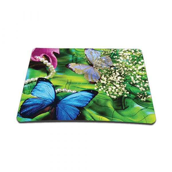 Standard 7 x 9 Inch Mouse Pad - Spring Butterfly