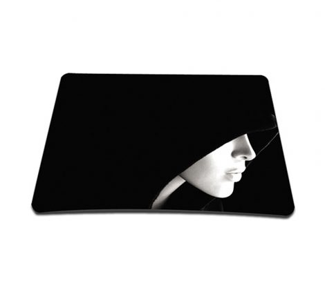 Standard 7 x 9 Inch Mouse Pad - Hooded Girl