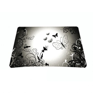 Standard 7 x 9 Inch Mouse Pad - Butterfly Contrast Fade