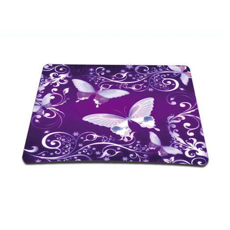 Standard 7 x 9 Inch Mouse Pad - Dual Butterflies