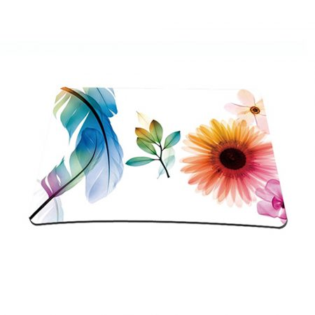 Standard 7 x 9 Inch Mouse Pad - Daisy Flower Leaves Floral