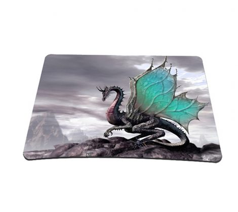Standard 7 x 9 Inch Mouse Pad - Flying Dragon