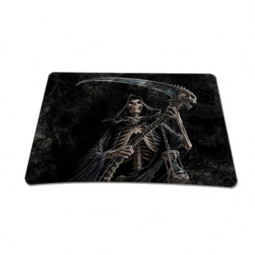 Standard 7 x 9 Inch Mouse Pad - Reaper Skull
