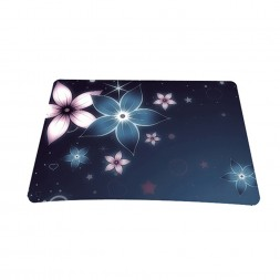 Standard 7 x 9 Inch Mouse Pad - Plumeria Flower Floral