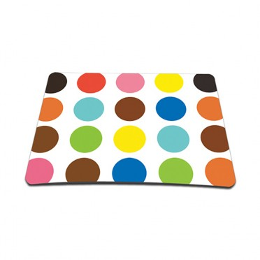 Standard 7 x 9 Inch Mouse Pad - Polka Dots
