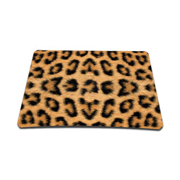 Standard 7 x 9 Inch Mouse Pad - Leopard Print