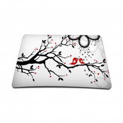 Standard 7 x 9 Inch Mouse Pad - Love Birds