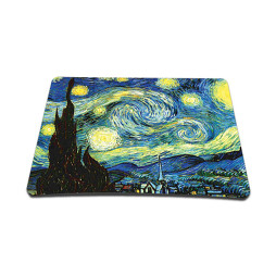 Standard 7 x 9 Inch Mouse Pad - Starry Night