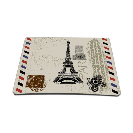 Standard 7 x 9 Inch Mouse Pad – Paris Design