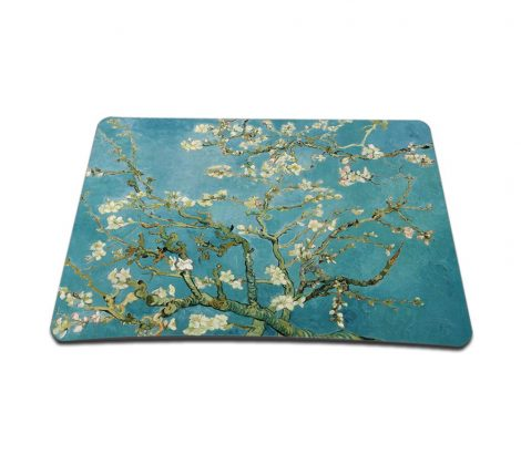 Standard 7 x 9 Inch Mouse Pad – Almond Trees