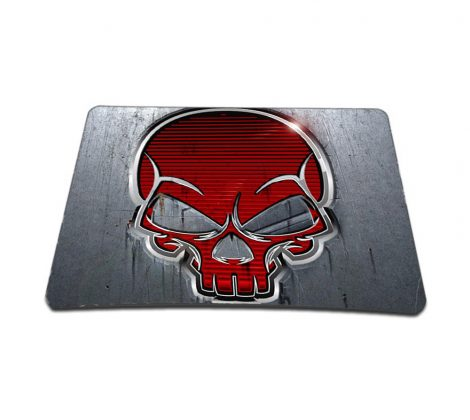 Standard 7 x 9 Inch Mouse Pad – Red Skull