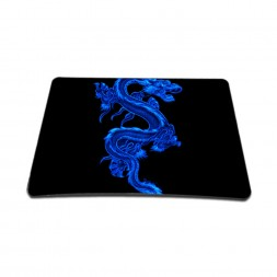 Standard 7 x 9 Inch Mouse Pad – Blue Dinosaur