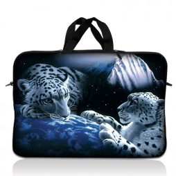 Notebook / Netbook Sleeve Carrying Case w/ Handle – Mountain Lions