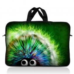 Notebook / Netbook Sleeve Carrying Case w/ Handle – Hedgehog